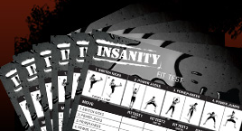 Insanity Workout Fit Test Worksheets