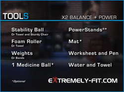 P90X2 Review - P90X2 Equipment Needed