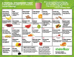 Tropical Shakeology Recipes