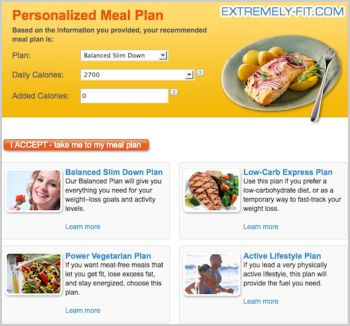 P90x Meal Plan  New Calendar Template Site