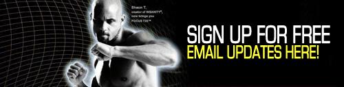 Focus T25 Email Updates