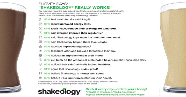 Quick Shakeology Recipes #2