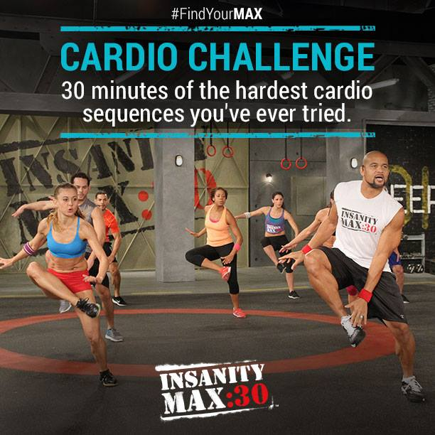 Insanity MAX: 30 - Cardio Challenge - Month 1