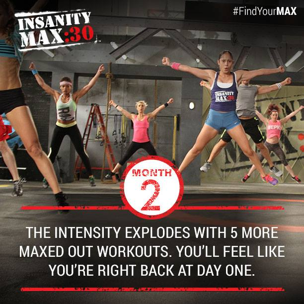 Insanity MAX: 30. Month 2 Workouts