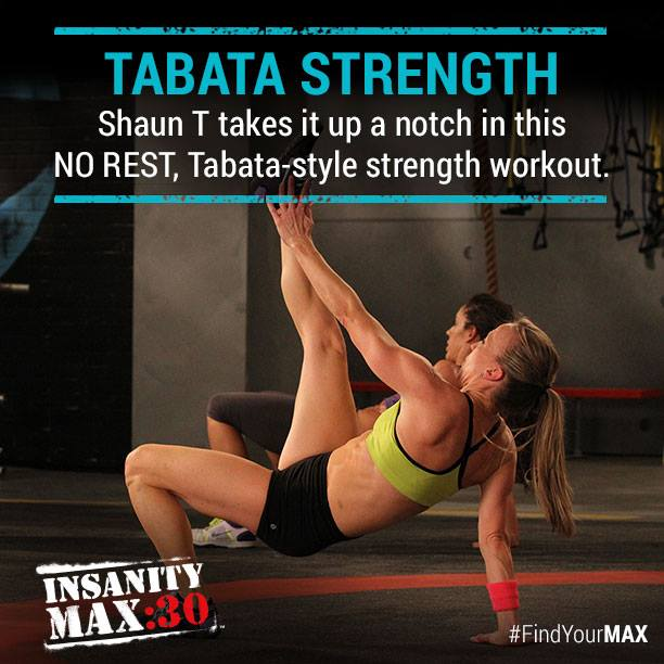 Insanity MAX: 30 - Tabata Strength - Month 1