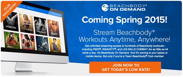 Stream Beachbody Workouts, Download P90X – Download Insanity & More!