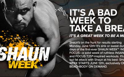 Shaun Week – New Shaun T Workouts!